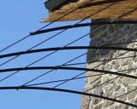 AE04 — Tonnelle d'envergure de terrasse