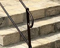 GC09 — Garde-corps de terrasse avec escalier