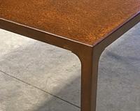DM02 — Table en corten sur-mesure | 1500x900mm
