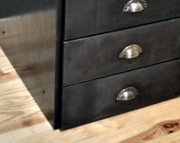 DM04 — Conception d'un bureau à tiroirs et plateau bois.
