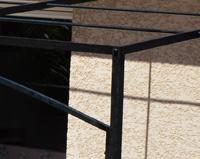 TP07 — Tonnelle à toit plat (Ozon)
