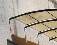 TP09 — Tonnelle suspendu avec système toile intégré